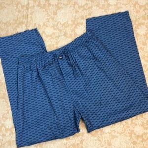Michael Kors Blue Logo Pants